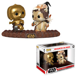 FUNKO POP STAR WARS PACK 2 POP! MOVIE MOMENTS C-3PO ON THRONE