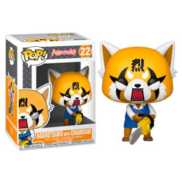 FIGURINE FUNKO POP SANRIO AGGRETSUKO RETSUKO WITH CHAINSAW