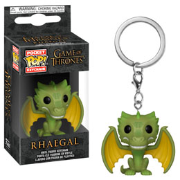 PORTE CLE GAME OF THRONES POCKET POP! RHAEGAL