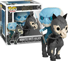 GAME OF THRONES POP! RIDES VINYL FIGURINE WHITE WALKER ON HORSE 15 CM