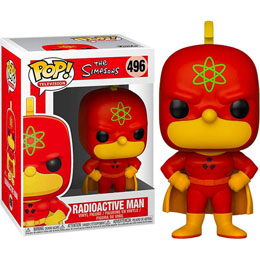 SIMPSONS FIGURINE POP! TV VINYL RADIOACTIVE MAN