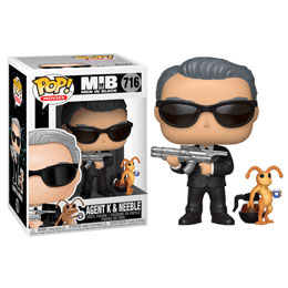 MEN IN BLACK POP! MOVIES VINYL FIGURINE AGENT K & NEEBLE