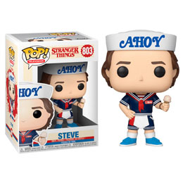 STRANGER THINGS FUNKO POP! STEVE WITH HAT AND ICE CREAM
