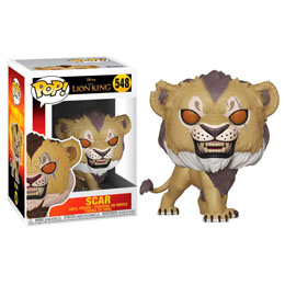 LE ROI LION (2019) FIGURINE FUNKO POP! SCAR