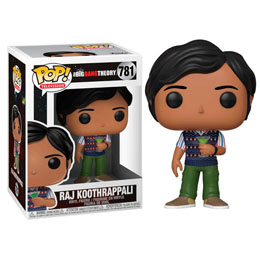 POP! THE BIG BANG THEORY RAJ