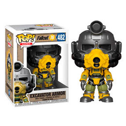 FALLOUT 76 FIGURINE POP! GAMES VINYL EXCAVATOR POWER ARMOR 9 CM