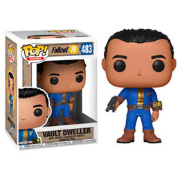 FALLOUT 76 FIGURINE POP! GAMES VINYL VAULT DWELLER (MALE)