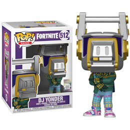 FUNKO POP DJ YONDER FORTNITE