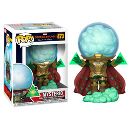 SPIDER-MAN FAR FROM HOME FIGURINE POP! MOVIES VINYL MYSTERIO
