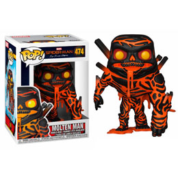 SPIDER-MAN FAR FROM HOME FIGURINE POP! MOLTEN MAN