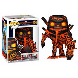 SPIDER-MAN FAR FROM HOME FIGURINE POP! MOLTEN MAN