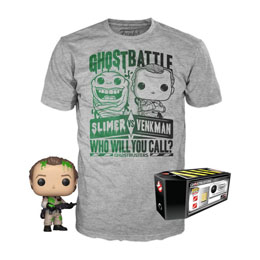 SOS FANTÔMES POP! & TEE SET FIGURINE ET T-SHIRT DR. PETER VENKMAN EXCLUSIVE