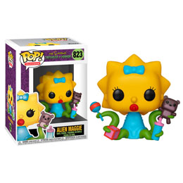 SIMPSONS FIGURINE POP! ALIEN MAGGIE