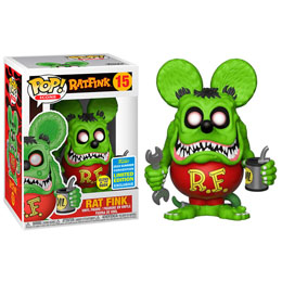 FIGURINE FUNKO POP RAT FINK GLOW EXCLUSIVE SDCC 2019