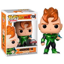 FIGURINE FUNKO POP DRAGON BALL Z ANDROID 16 METALLIQUE SPECIAL EDITION
