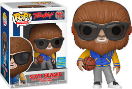 TEEN WOLF (1985) FIGURINE POP! MOVIES VINYL SCOTT HOWARD SDCC EXCLUSIVE