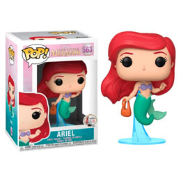 DISNEY LA PETITE SIRENE FUNKO POP ARIEL WITH BAG