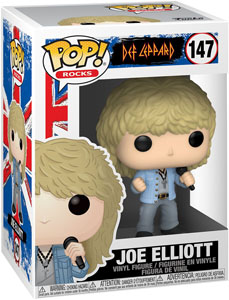 DEF LEPPARD FUNKO POP JOE ELLIOTT