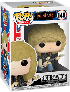 DEF LEPPARD FUNKO POP RICK SAVAGE