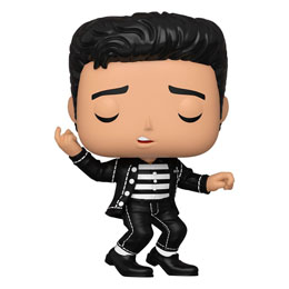 ELVIS PRESLEY POP! ROCKS FIGURINE ELVIS - JAILHOUSE ROCK