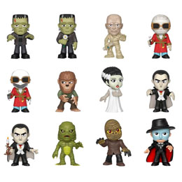 12 MYSTERY MINIS UNIVERSAL MONSTERS + PRESENTOIR