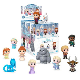 PACK 12 FIGURINES MYSTERY DISNEY FROZEN 2 + PRÉSENTOIR
