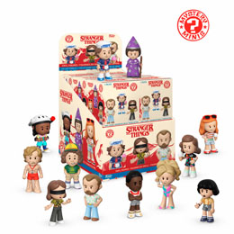 STRANGER THINGS 12 FIGURINES MYSTERY MINI 5 CM + PRESENTOIR