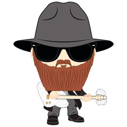 LONDON TOY FAIR FUNKO POP ZZ TOP BILLY GIBBONS