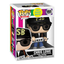 FUNKO POP ROCKS PET SHOP BOYS FIGURINE CHRIS LOWE