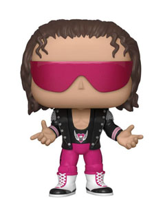 WWE FUNKO POP! BRET HART WITH JACKET