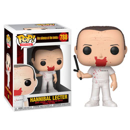 LE SILENCE DES AGNEAUX POP! MOVIES VINYL FIGURINE HANNIBAL BLOODY