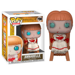 CONJURING : LES DOSSIERS WARREN POP! MOVIES VINYL FIGURINE ANNABELLE IN CHAIR