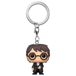 HARRY POTTER PORTE-CLÉS POCKET POP! VINYL HARRY (YULE BALL) 4 CM