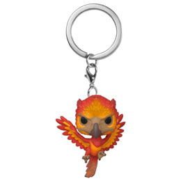 HARRY POTTER PORTE-CLÉS POCKET POP! VINYL FAWKES