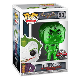DC MARVEL FUNKO POP! THE JOKER (GREEN CHROME) EXCLUSIVE