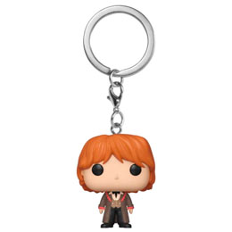 HARRY POTTER PORTE-CLÉS POCKET POP! VINYL RON (YULE)