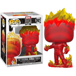 MARVEL 80TH POP! HEROES HUMAN TORCH (FIRST APPEARANCE)