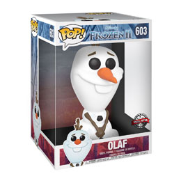 LA REINE DES NEIGES 2 SUPER SIZED POP! FIGURINE OLAF 25 CM