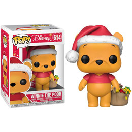 DISNEY HOLIDAY POP! DISNEY VINYL FIGURINE WINNIE THE POOH