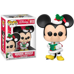 DISNEY HOLIDAY POP! DISNEY VINYL FIGURINE MINNIE