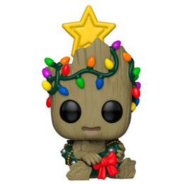 MARVEL HOLIDAY FIGURINE POP! MARVEL VINYL GROOT