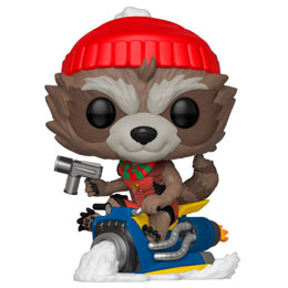 MARVEL HOLIDAY FIGURINE POP! MARVEL VINYL ROCKET