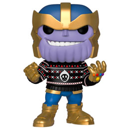 MARVEL HOLIDAY FIGURINE POP! MARVEL VINYL THANOS