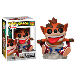 CRASH BANDICOOT POP! GAMES FIGURINE CRASH
