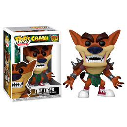 FUNKO POP CRASH BANDICOOT TINY TIGER SERIES 3
