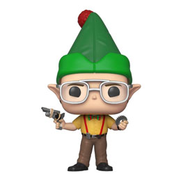 THE OFFICE FIGURINE POP! TV VINYL DWIGHT AS ELF