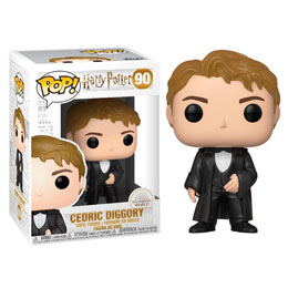 HARRY POTTER FUNKO POP! MOVIES VINYL FIGURINE CEDRIC DIGGORY (YULE)