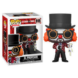 FIGURINE FUNKO POP LA CASA DE PAPEL PROFESSOR O CLOWN