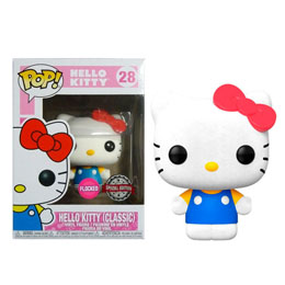 HELLO KITTY FIGURINE FUNKO POP! SANRIO HELLO KITTY CLASSIC (FLOCKED)