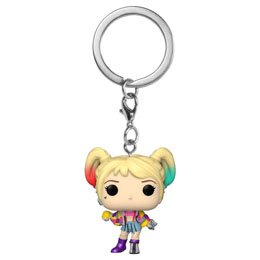 LES ANGES DE LA NUIT PORTE-CLÉS POCKET POP! VINYL HARLEY QUINN (CAUTION TAPE)